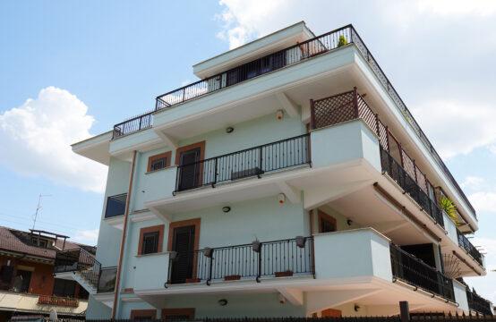 Nuove costruzioni, secondo piano con terrazzo e box auto